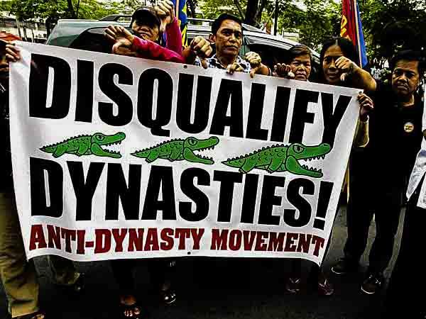 Political anti-dynasty movement