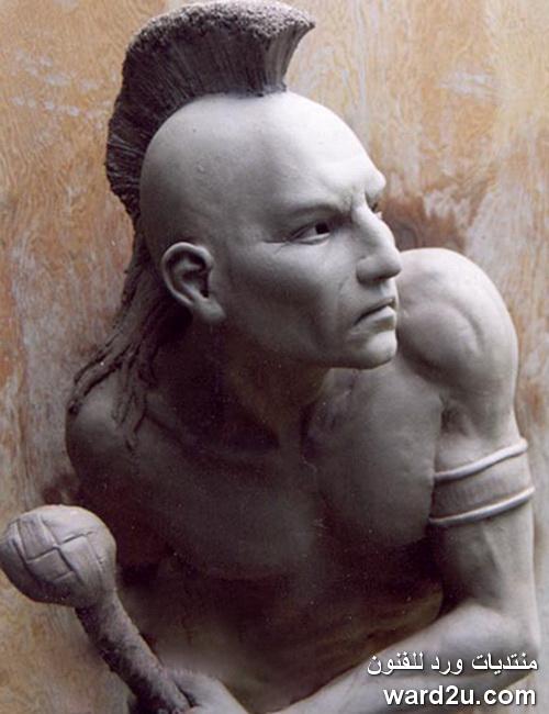 النحات فيليب فارويت Philippe Faraut
