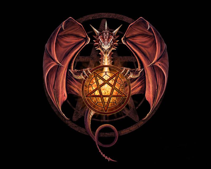 Fantasy Dragon Satanic, Dragons