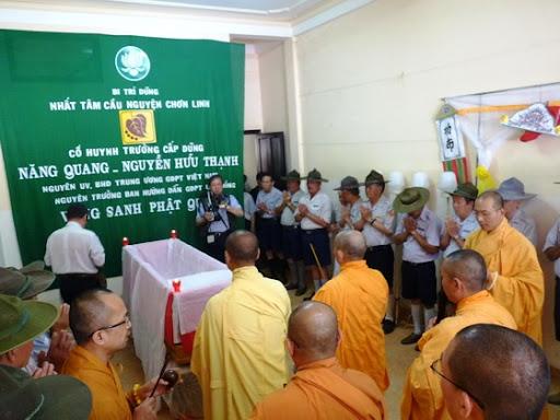 Lễ nhập liệm Cố HT Nguyễn Hữu Thạnh