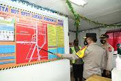 Kapolda Sumut Tinjau Pos PAM Simpang Dua Pematangsiantar