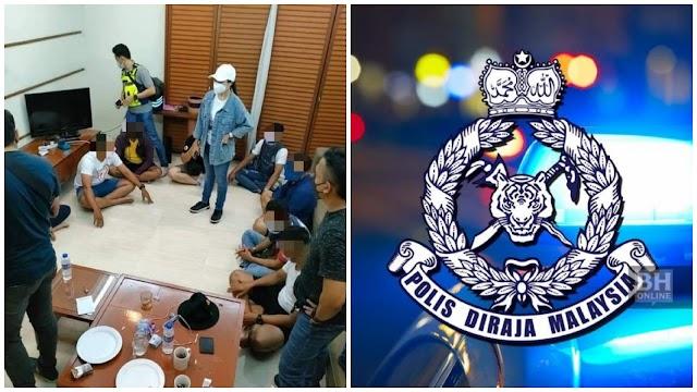 Dua anggota polis ditahan sertai parti dadah