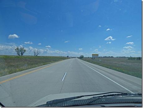 Headed east on I-70, Colorado