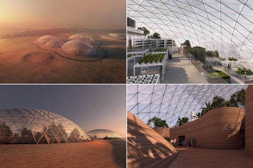 Wonders : Dubai's £100m 'Martian City' In The Desert To Simulate Life On The Red Planet