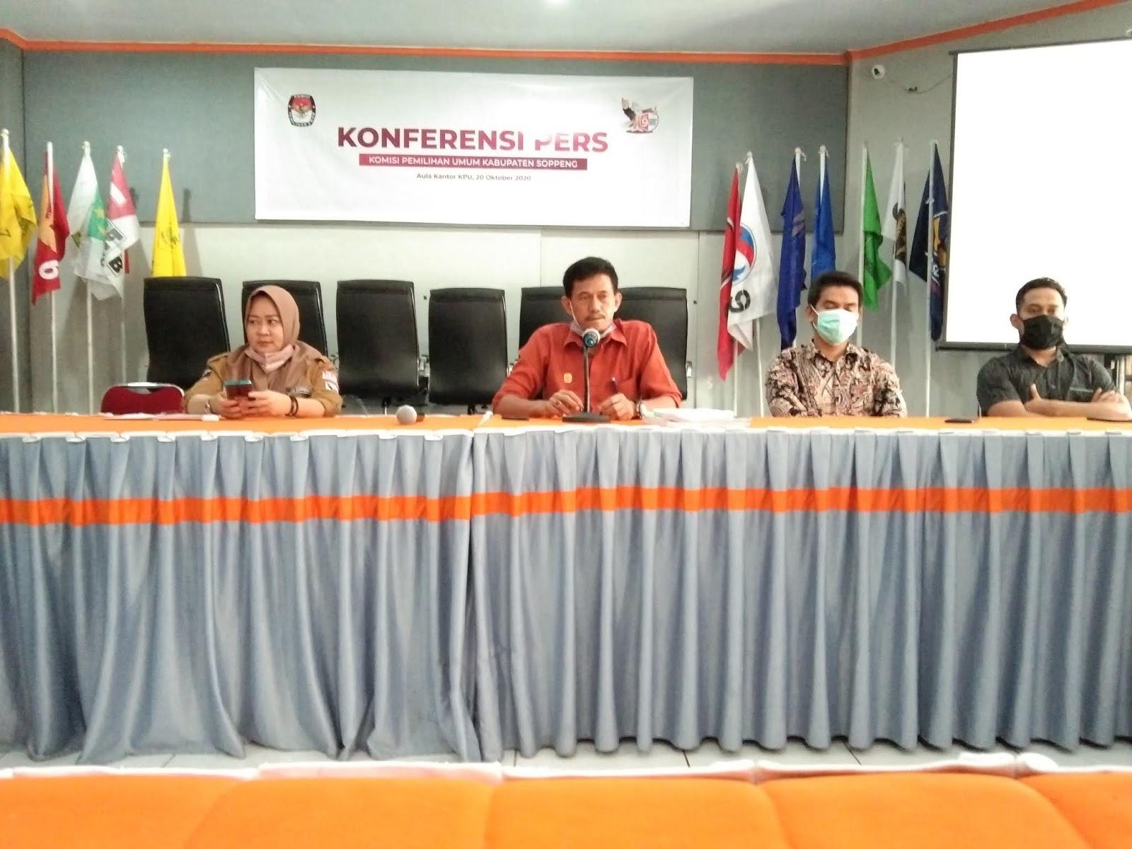 KPU Soppeng : Alat Peraga Kampanye dan Bahan Kampanye Paslon Normatif