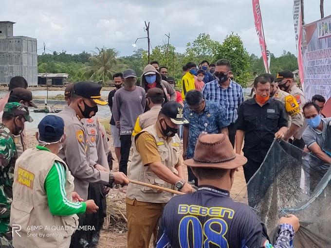Tim Propinsi Kalsel Nilai 2 Kampung Tangguh Banua di Kotabaru