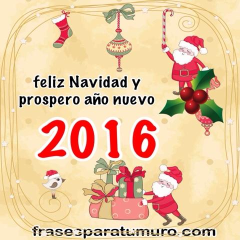 Feliz navidad y prospero a o nuevo 2016 - Frases de feliz navidad y prospero ano nuevo ...