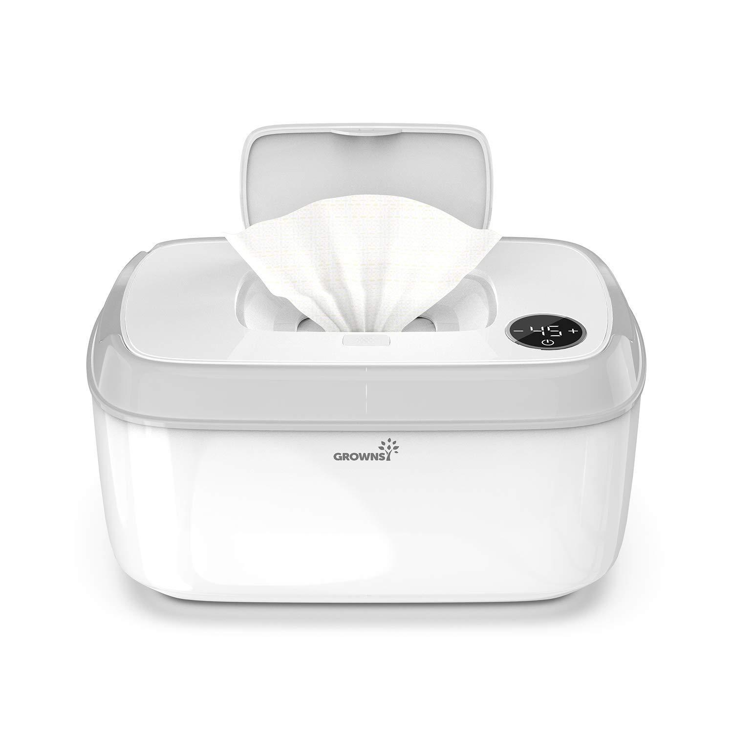 Amazon.com : Wipe Warmer, Baby Diaper Wipes Dispenser Holder BPA-Free with  Precise Temperature Control, Evenly and Quickly Top Heating, Large  Capacity, Silent for Baby, Perfect Warmth : Baby