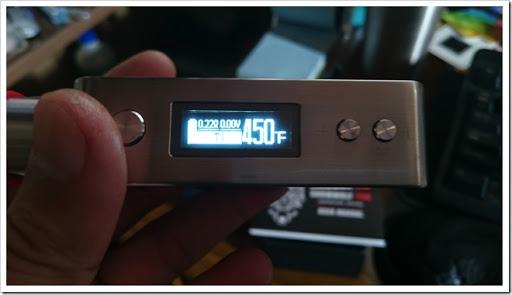 DSC 1365 thumb%25255B3%25255D - 【MOD】初めてのASMODUS SNOW WOLF Mini 75Wのレビュー!高級感あるステンレスボディとTC機能付きの小型MOD