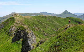 La Brèche d'Enfloquet (1612 m).