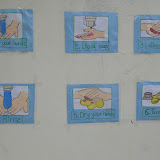 Hand washing day on 22/06/2015 for Pre-Primary.
