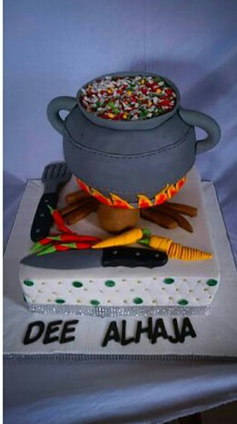 Cake for a caterer