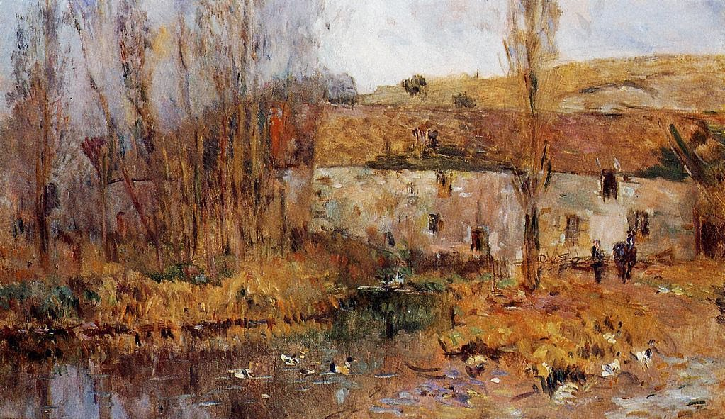 Albert Lebourg - Mill in Normandy