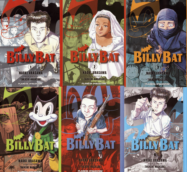 Billy Bat [Vol. 1-6][Manga][Espa�ol]