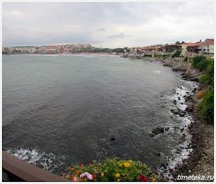 Созополь. Вид на центральный пляж из Старого города