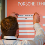 STUTTGART, GERMANY - APRIL 16 : Ambiance at the 2016 Porsche Tennis Grand Prix draw ceremony