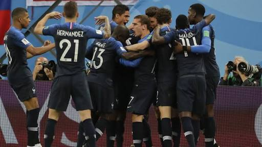 Russia 2018: France in Final, Pip Belgium