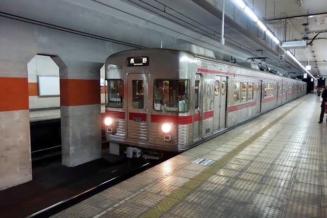 長野電鉄 権堂駅