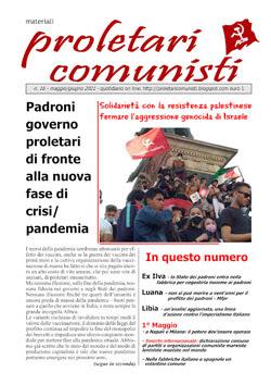 Il nuovo numero di proletari comunisti