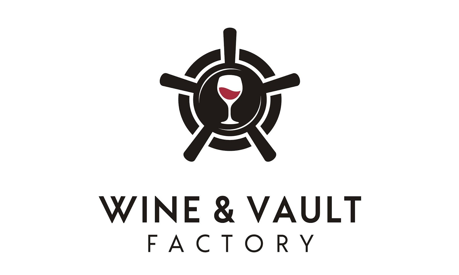 Wine Vault Factory Logo Free Download Vector CDR, AI, EPS and PNG Formats