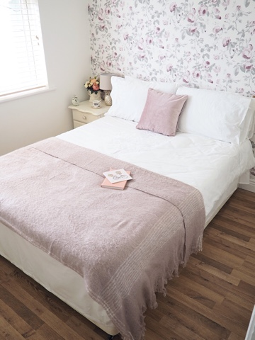 Laura Ashley Guest Bedroom Makeover The Dainty Dress Diaries - Laura ashley bedroom