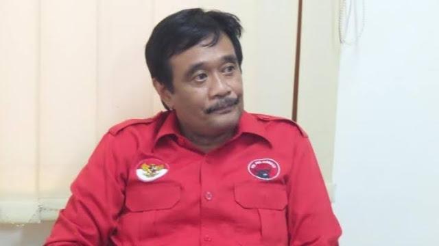 Foto: Djarot Saiful Hidayat. Eks Gubernur dari PKS Sumber Virus Korupsi di Sumut.