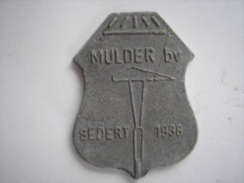 Naam: MulderPlaats: GroningenJaartal: 1938