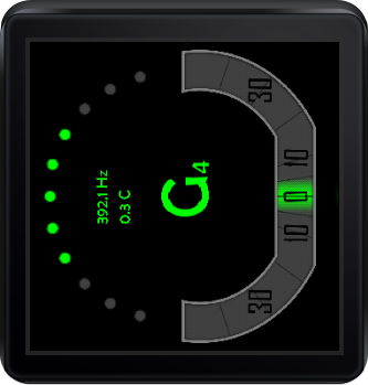 At Hand Tuner Pro: Wear+Strobe- screenshot