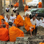 Angkor Thom - Tempel Bayon - Neujahrsfest