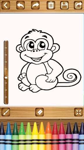 Coloring Book for Kids - Drawing & Learning Game 1.2 screenshots 8