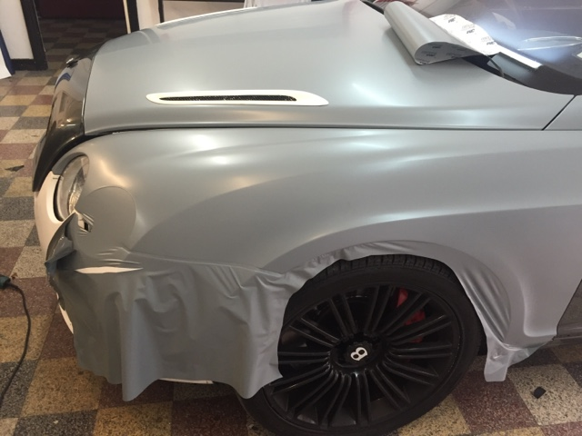London Window Tinting >> Bentley GT vinyl wrapped Satin Battleship Grey | Car Wrap London - Wrapping Cars