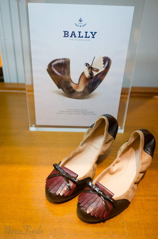 norafinds blog sydney vintage bally ballet flat launch exclusive wishlist vogue Fashion Night Out