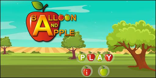 Balloon And Apple