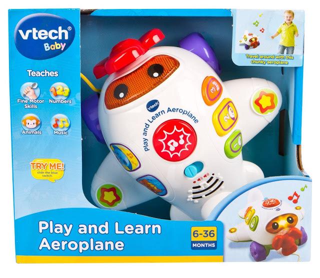 Trực thăng vui nhộn Play and learn Aeroplane Vtech
