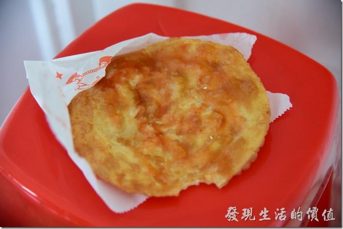工作熊個人覺得劉記韭菜盒的烙餅吃起來更勝韭菜盒子,蓬鬆又有脆度,配上甜辣醬真的非常對味。