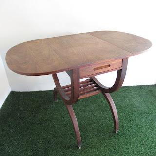 Dunbar Vintage Drop Leaf Side Table