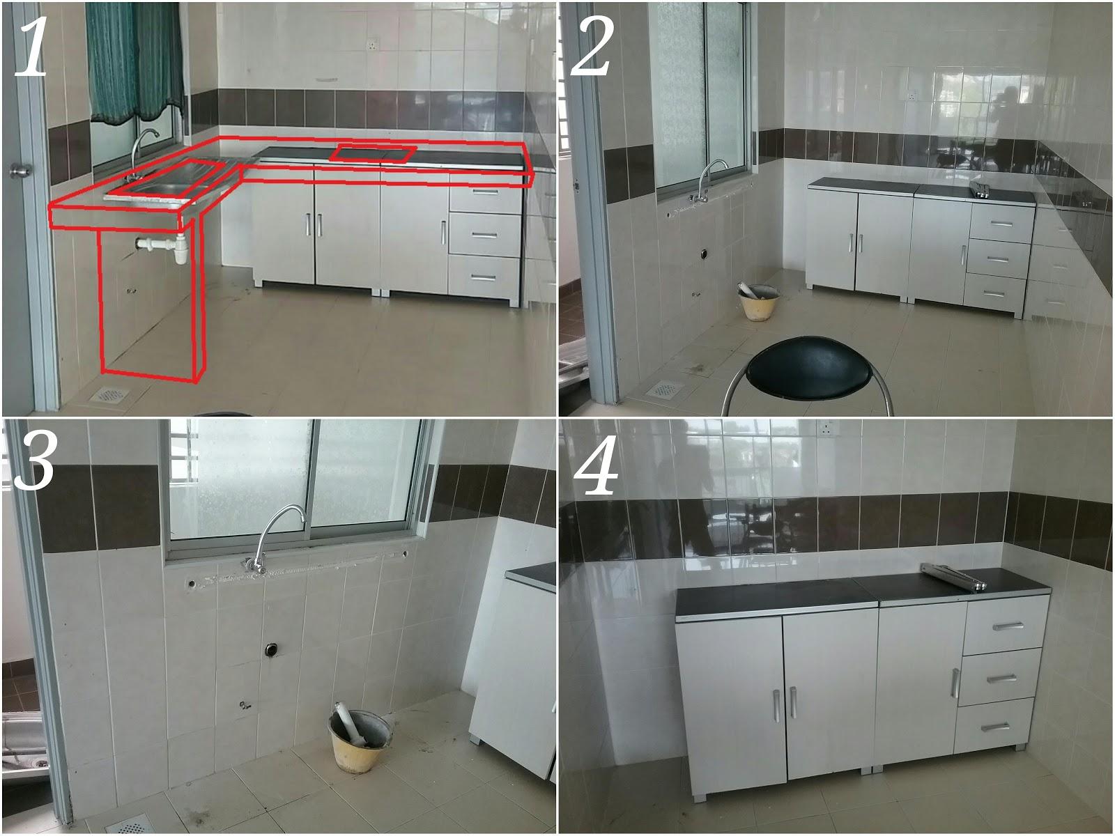 Buat Table Top Countertop Meja Dapur Di Yen 4 Bandar