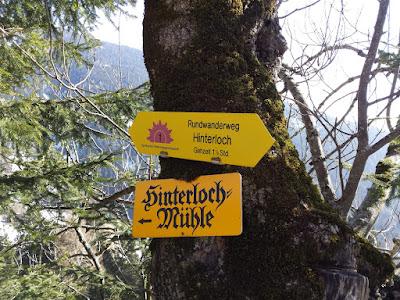 es geht zur Mühle in Oberellbögen