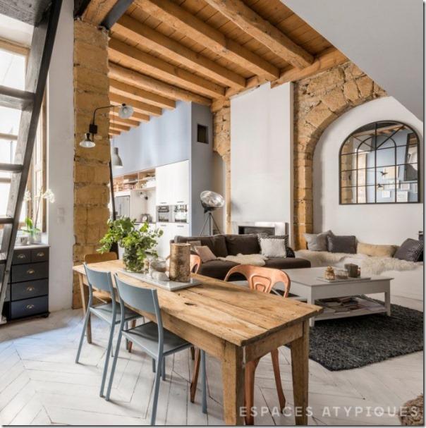 Appartamento da un ex fabbrica tessile case e interni for Casa interni