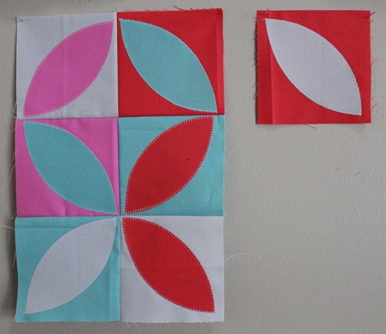 orange peel quilt blocks