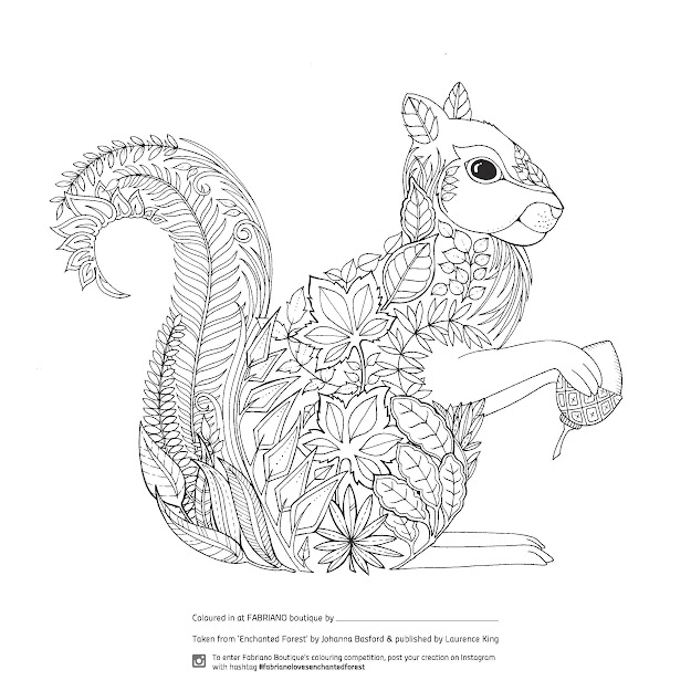 Enchanted Forest Colouring Petition At Fabriano Boutique Adult Coloring  Pagescolouring