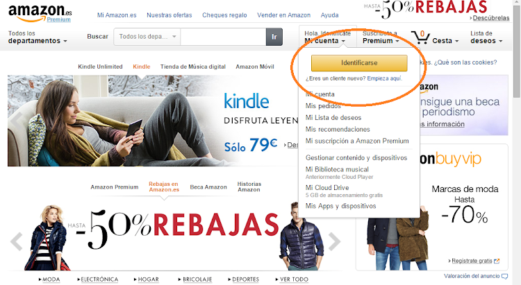 Descargar libros gratis en Amazon