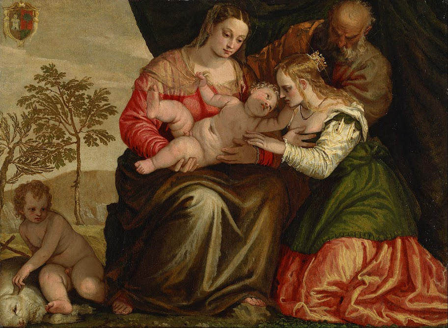 Paolo Veronese - The Mystic Marriage of St. Catherine - Google Art Project