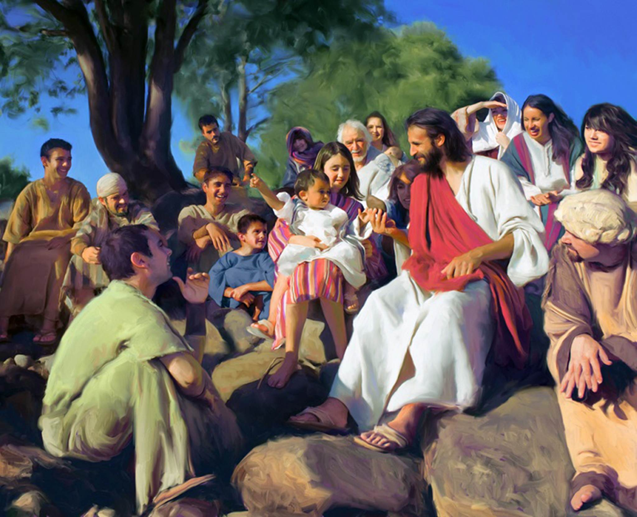 Chua giang day, Jesus on the mount, Jesus teaching