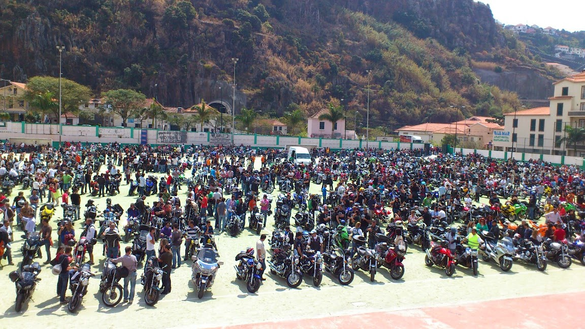 Dia do motociclista na Madeira Motards