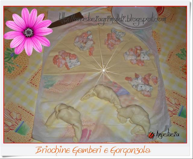 briochine salate g&g: gamberi e gorgo!