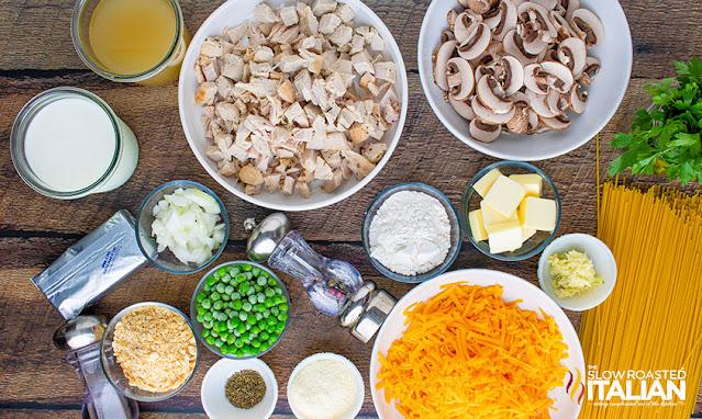 leftover turkey recipe ingredients