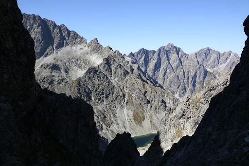 Litvorová dolina zo sedla Prielom
