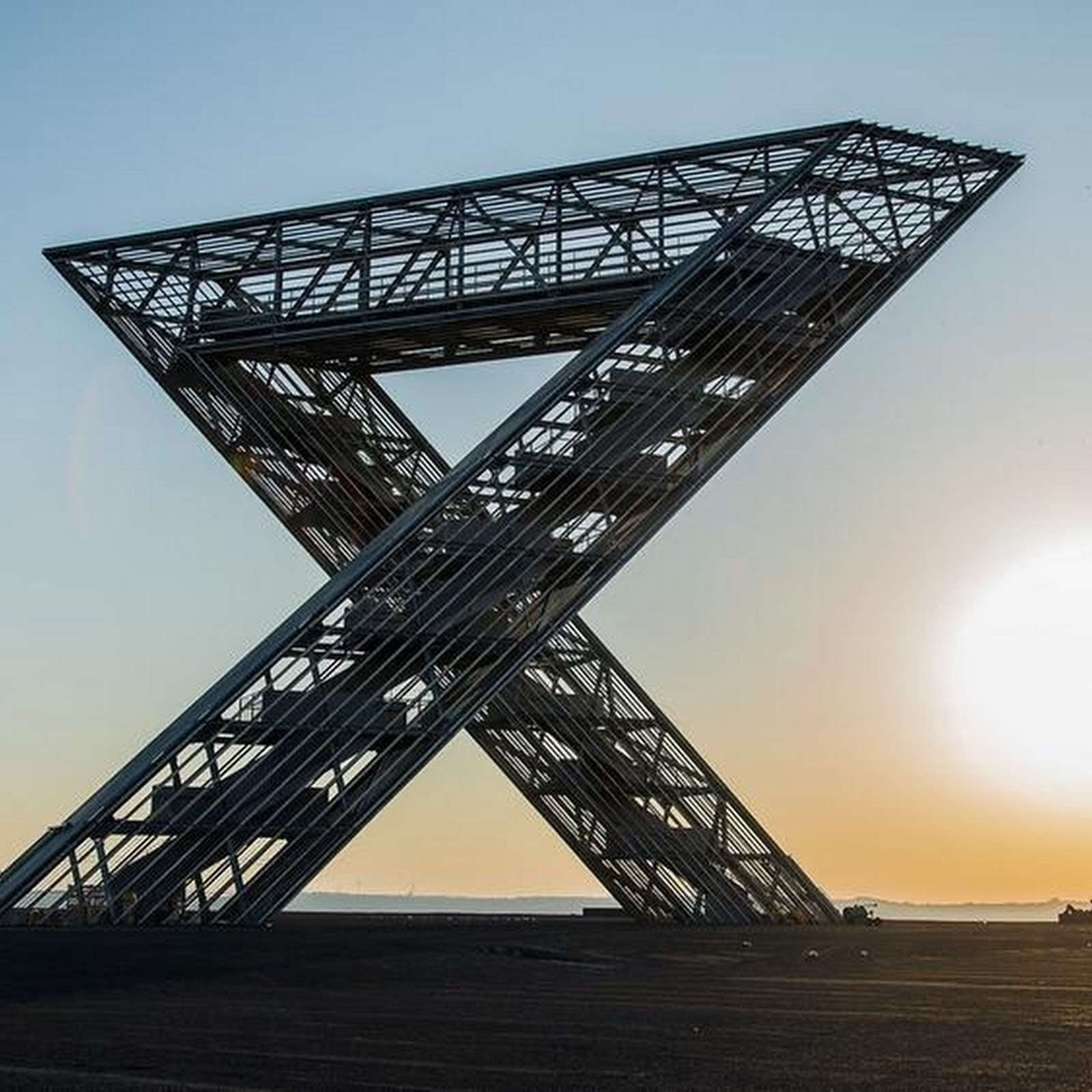 Saar Polygon: A Monument to Coal Mining in Germany