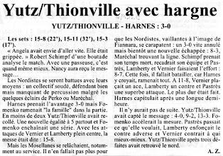 Photo: 09-12-96 N2F Yutz-Thionville - Harnes 3-0